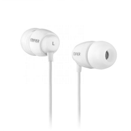 EDIFIER Earphone [H210] - White - Earphone Ear Monitor / Iem